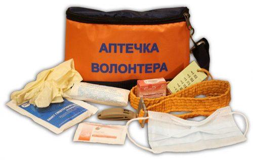 аптечка волонтёра