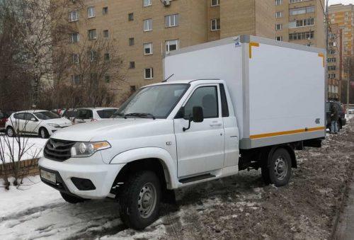 Фургон легкий «сэндвич» на шасси «УАЗ» Патриот