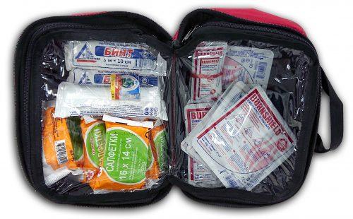 Набор перевязочных средств противоожоговый с повязками и гелями