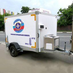 Передвижная мобильная холодильная камер