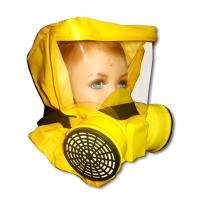 Самоспасатель «Шанс»-Е с малой полумаской (детская модель)