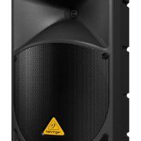 BEHRINGER B112MP3 — активная двухполосная акустическая система с MP3, 12″+1,35″, 1000Вт, би-амп, уси