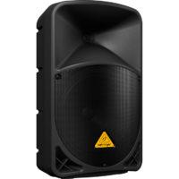 BEHRINGER B112W — активная двухполосная акустическая система, 12″+1,35″, 1000Вт, би-амп, усилитель к