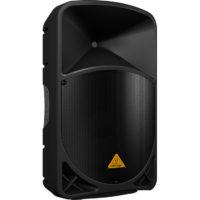 BEHRINGER B115W — активная двухполосная акустическая система, 15″+1,35″, 1000Вт, би-амп, усилитель к