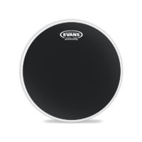 EVANS TT18RBG — нижний пластик 18″ Resonant Black для том-тома, цвет черный